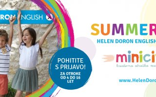 SUMMER FUN s Helen Doron English Ljubljana in Minicityjem